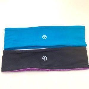 Lululemon Headband 2 pack